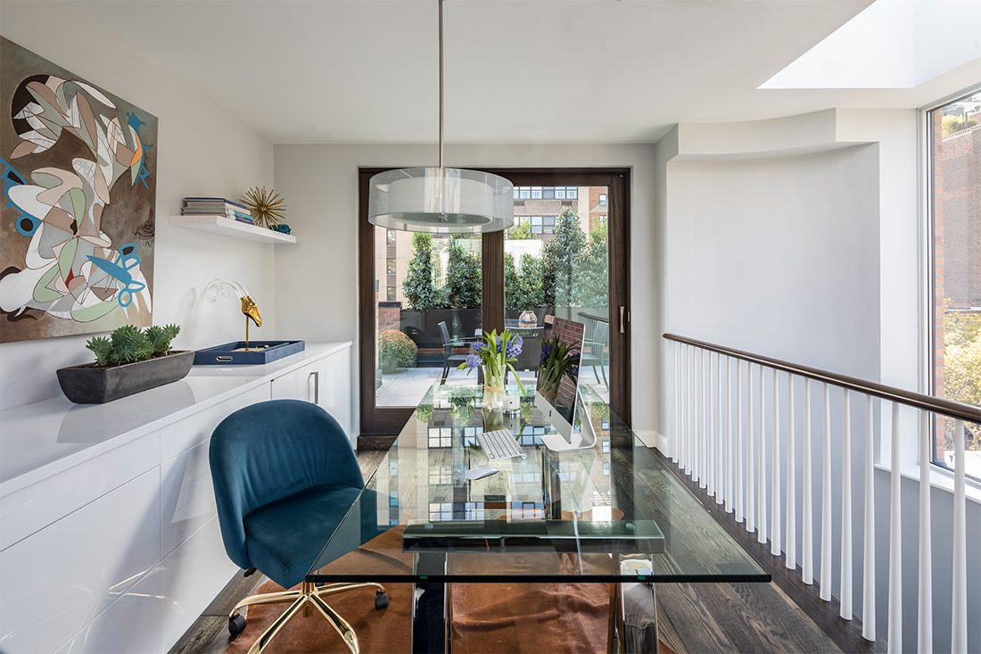 Ashley Bradley Interiors - UES Townhouse - Office