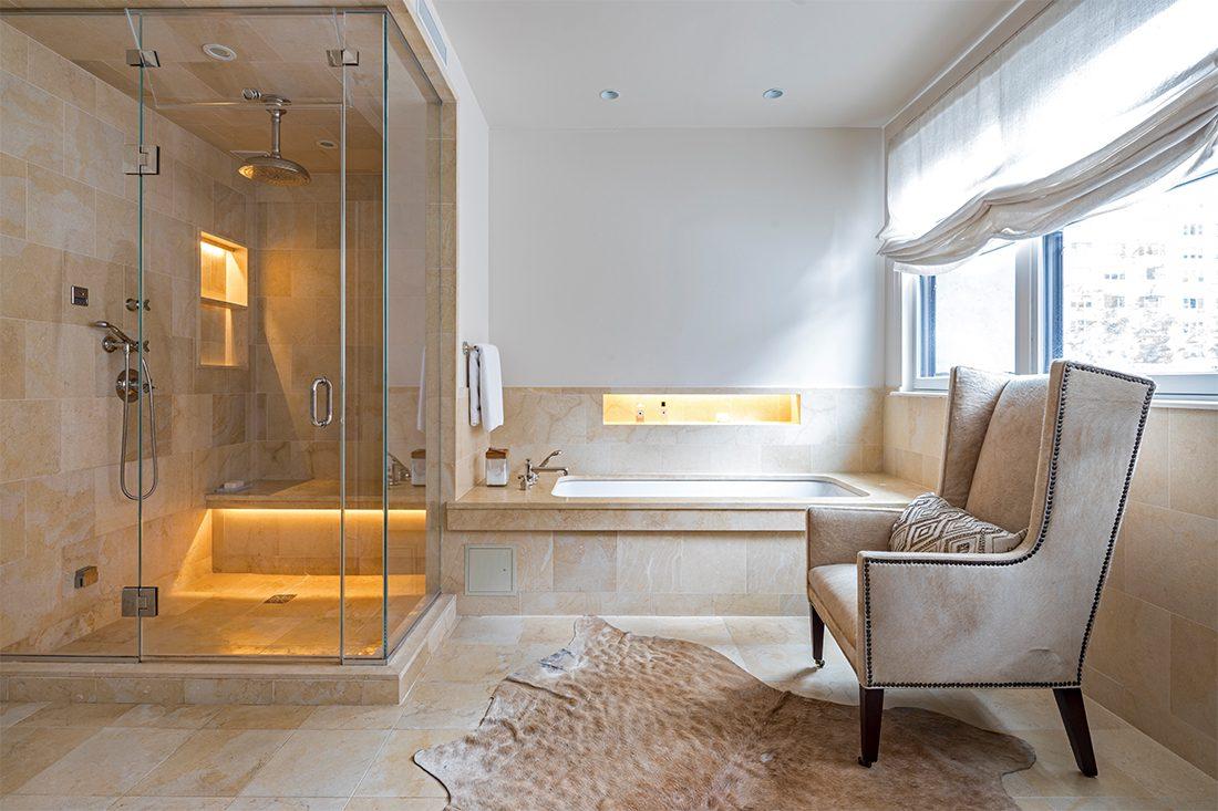 Ashley Bradley Interiors - UES Townhouse - Bath