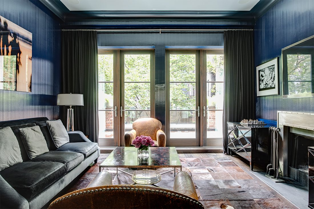 Ashley Bradley Interiors - UES Townhouse - Living Room