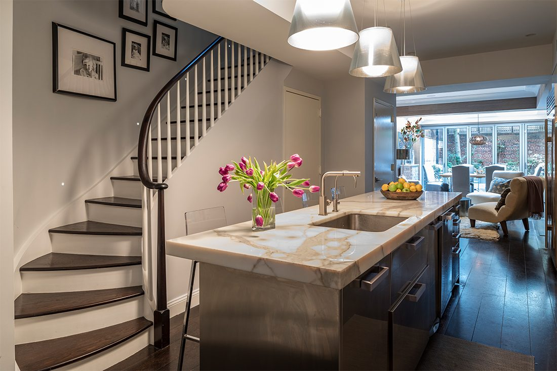 Ashley Bradley Interiors - UES Townhouse - Kitchen