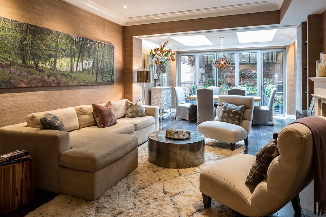 Ashley Bradley Interiors - UES Townhouse - Family Room